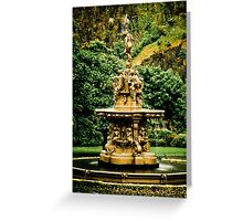 The Ross Fountain Greeting Card