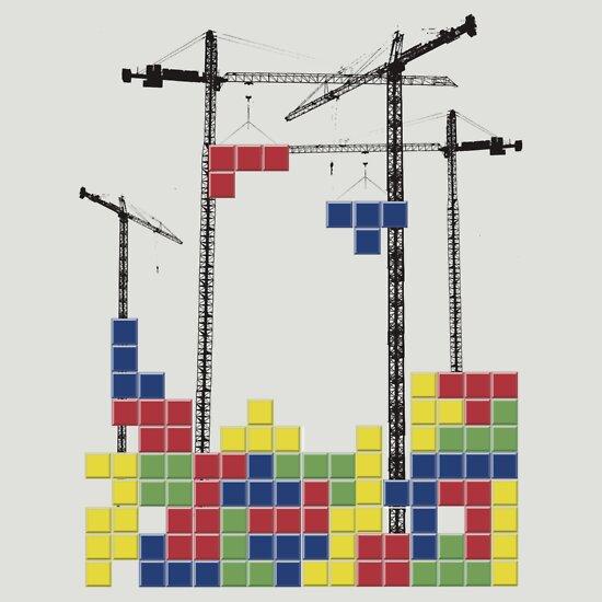 TShirtGifter presents: Tetris Skyline