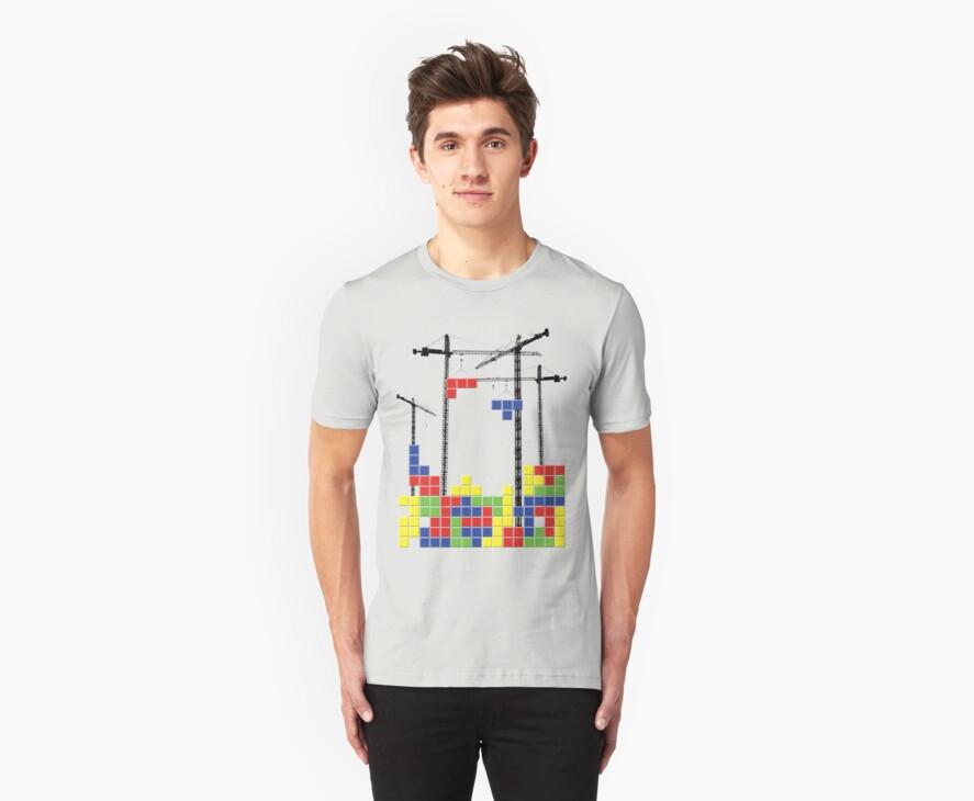 Tetris Skyline by Reece Ward