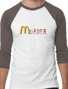 McMurder Men's Baseball ¾ T-Shirt