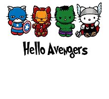 Hello Avengers by Tommy4848