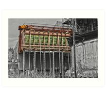 Timber Hopper Art Print