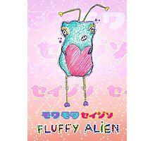 Moku Moku Seijin [Fluffy Alien ♥] Photographic Print