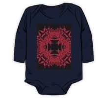 Pink Fractal One Piece - Long Sleeve