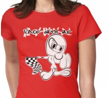 RACE... Womens Fitted T-Shirt