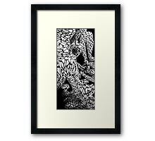 Abstract Reflected Framed Print