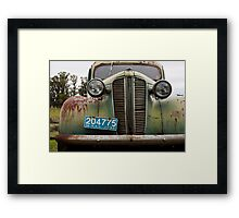 Classic Decay Framed Print