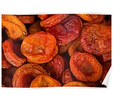 Food - Dried apricots Poster