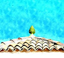 Hotel Sgroi: roof and tiles by Giuseppe Cocco