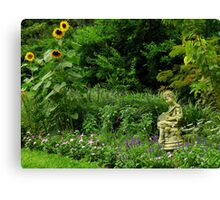 Art In The Gardens ~ Part Two Canvas Print