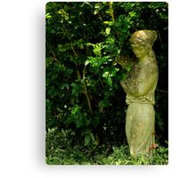 Art In The Gardens ~ Part Three Canvas Print