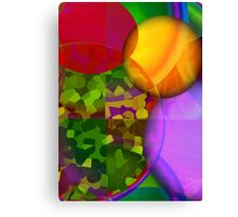 Movin' On Over Canvas Print