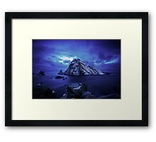 Sugar Loaf Rock Framed Print