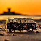 VW sunset by Gary Power