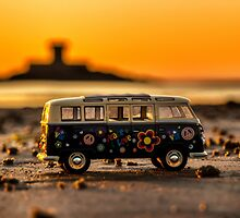 VW sunset by Gary Power