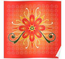 Floral Designs (4) Poster