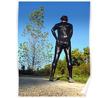 Fall Zentai Run Poster