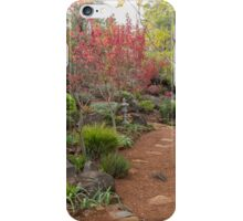 Autumn in the Garden iPhone Case/Skin
