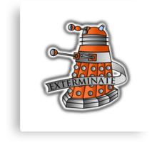 Dalek - Scientist Variant 2 Canvas Print