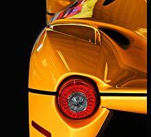 2014 Ferrari 'LaFerrari' Tail Light Detail' by DaveKoontz