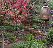 Autumn in the Garden #2 by Elaine Teague
