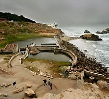 The Sutro Baths by Laurie Search