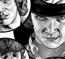 Clockwork Orange Sticker