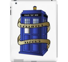 TARDIS - Gallifrey Stands! iPad Case/Skin