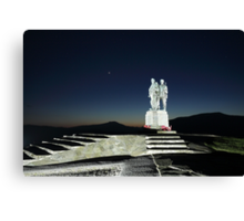 Commando Memorial Canvas Print