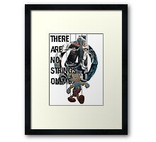 There are no strings on me - Avengers Ultron Framed Print
