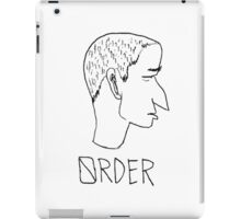 Stop Obey and begin Order iPad Case/Skin