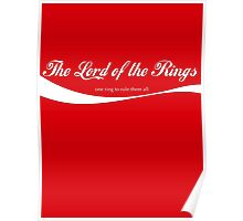 Lord of the Rings Coca-Cola Poster