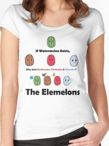 The Elemelons Women's Fitted Scoop T-Shirt