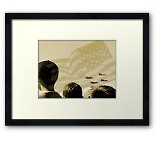 Patriotism 101 Framed Print