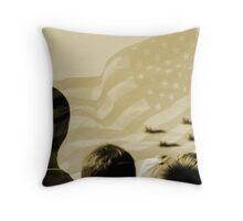 Patriotism 101 Throw Pillow