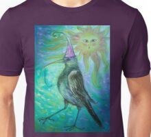 Mystical Bird - Turquoise  Unisex T-Shirt