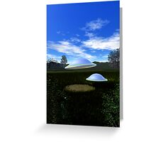 Nested Dome Saucers Greeting Card