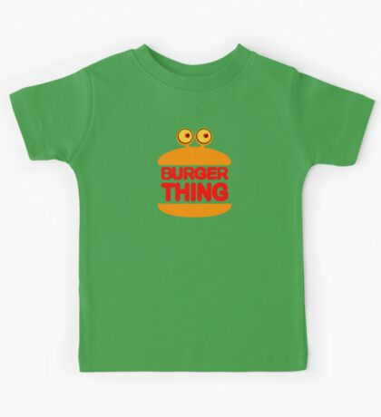 Burger Thing Kids Tee