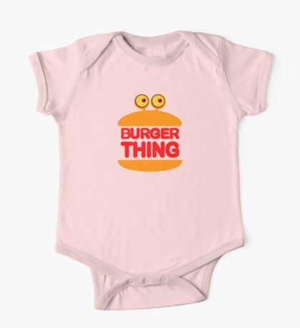 Burger Thing One Piece - Short Sleeve