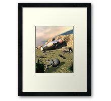 Roswell Like UFO Crash 3 Framed Print