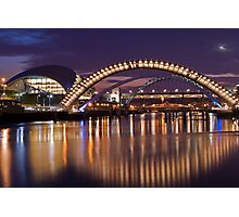 RIVER TYNE REFLECTIONS Photographic Print