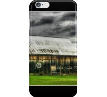 Hex Sign on a Vermont Barn iPhone Case/Skin