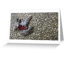Flying Rat Bird Without Head n°4 Greeting Card