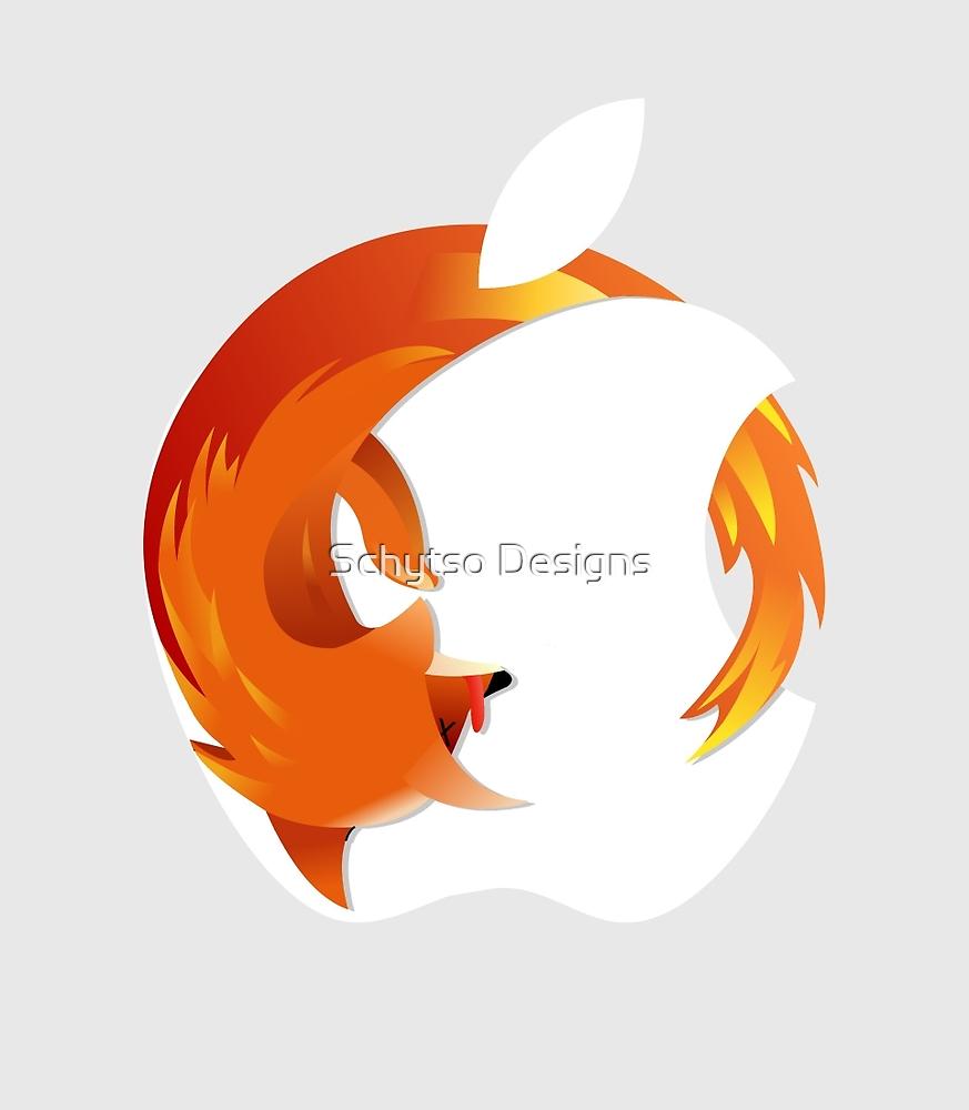 iLike fox furs by Schytso Designs
