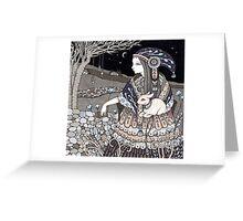 Shepherdess Greeting Card
