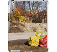 Earth day cleaning iPad Case/Skin