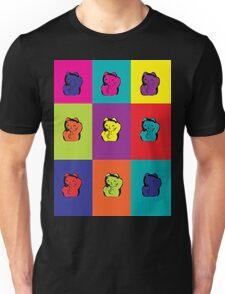 Maneki Neko Kitty Cat Rainbow Pop Art T-Shirt