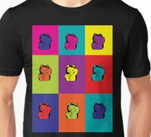 Maneki Neko Kitty Cat Rainbow Pop Art Unisex T-Shirt