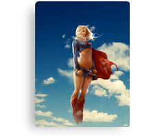 Super woman Canvas Print