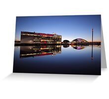 River Clyde Reflections Greeting Card